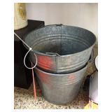 Galvanized pails