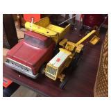 International tractor & Tonka truck