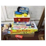 Fisher Price record player & assorted games