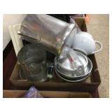 Camp cookware & assorted