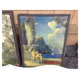 Framed Day Dreams decorator picture 12x17