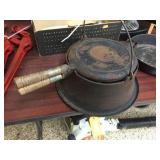 Wagner Ware #8 waffle iron
