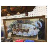 Pabst Blue Ribbon deer mirror 28x15