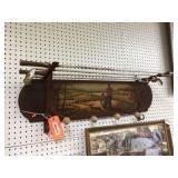 Golf coat rack 36 inches long
