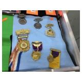 Assorted medals