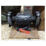 Black & Decker 2 wheel bench grinder