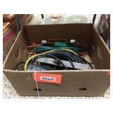 Extension cords & shop light