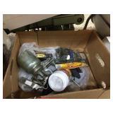 Paint sprayer, grease gun & assorted
