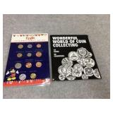 Two books of the world coins