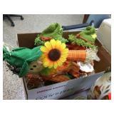 Scarecrow & fall decorators