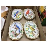 Bird wall decorators 7 inches long
