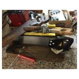 Miter saws & assorted
