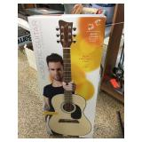 First Act Adam Levine acoustic guitar