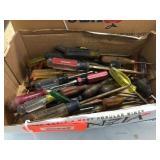 Box of screwdrivers