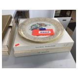 3 Lenox collector plates