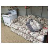 3 cushion floral Lazy Boy sofa