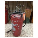 4 gallon hand fire extinguisher - rough shape