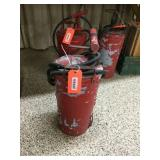 4 gallon hand fire extinguisher - SOME CRACKING AT