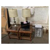 End Tables, lamps, monitor, Earnheart image