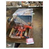electric clamps, footbath