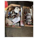 Bench grinder, hand tools