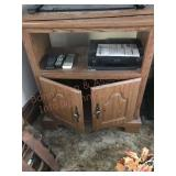 Entertainment center and VCR