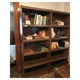 2 Shelf units each 6