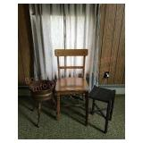 Chair, stool plant, stand