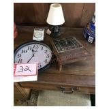 Clocks timer and lamp