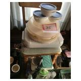 Tupperware, insulated cake pan cover and