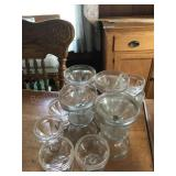 Ice cream dishes goblets