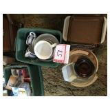 Soup cups and. Miscellaneous