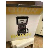 Bun coffee maker and stool
