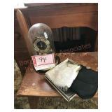 Anniversary clock and purses