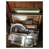 Framed photos collection