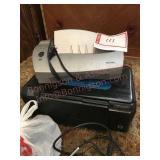 Printer And paper shredder