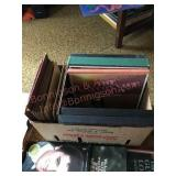 Multiple LP albums and 78 RPM records