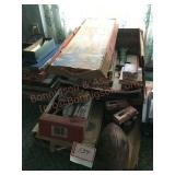 Game assortment including old pointed jarts be