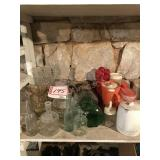Bottle and pitcher collection