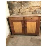"""Hutch (bottom stripped/top not stripped) 53"""" wide"""