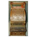 National #312 Antique Cash Register