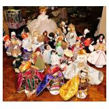 Sample Of Madame Alexander Dolls