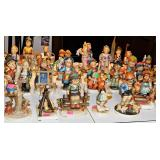 Sample Of Hummel Figurines