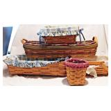 6a Five Longaberger Baskets