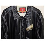 #7 NFL Eagles Leather Jacket