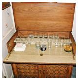 7a Vintage Folding Bar