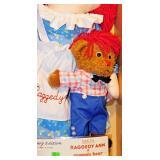 8 Dakin Commemorative Raggedy Ann, Raggedy Bear