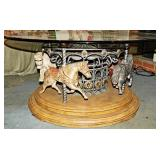 56 Carousel Decorative Center Table