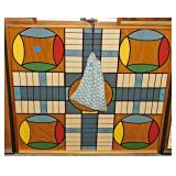 65 Folk Art Wall Hanging Board Games