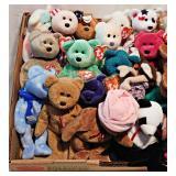 70a Twenty-Five Beanie Babies